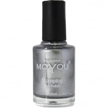 Stamping Nail Art Metallic Collection - Special Nail Polish - Mystic Stone 12ml