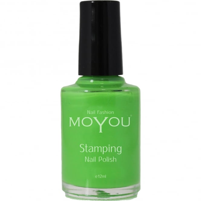 MoYou Stamping Nail Art - Special Nail Polish - Atlantic Green 12ml