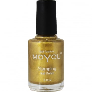 Stamping Nail Art - Special Nail Polish - Gold 12ml