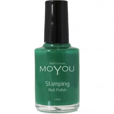 Stamping Nail Art - Special Nail Polish - Green 12ml