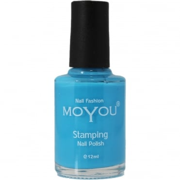 Stamping Nail Art - Special Nail Polish - Light Blue 12ml