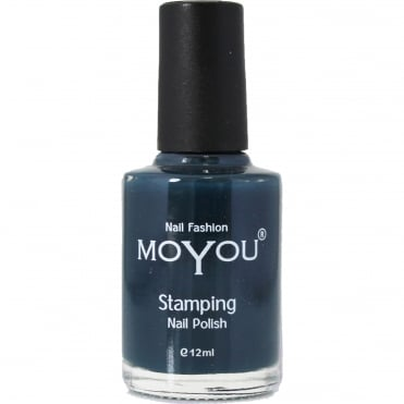 Stamping Nail Art - Special Nail Polish - Midnight Blue 12ml