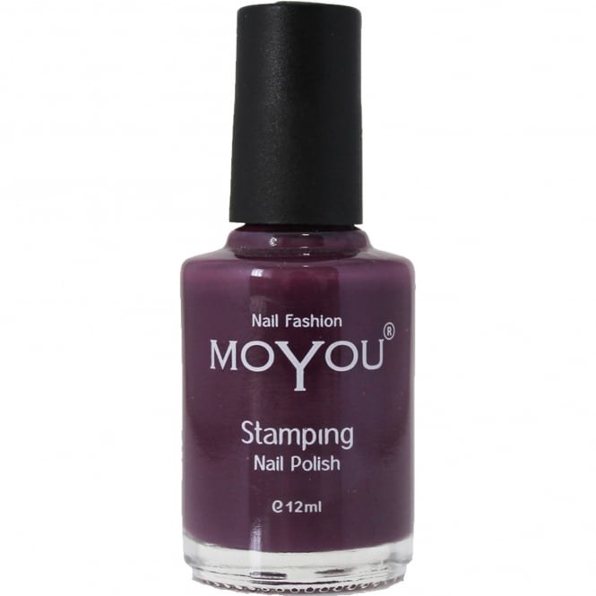 MoYou Stamping Nail Art - Special Nail Polish - Purple Rain 12ml