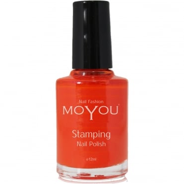Stamping Nail Art - Special Nail Polish - Red 12ml
