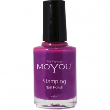 Stamping Nail Art - Special Nail Polish - Royal Purple 12ml