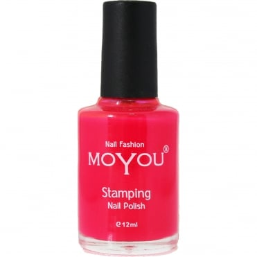 Stamping Nail Art - Special Nail Polish - Torch Red 12ml