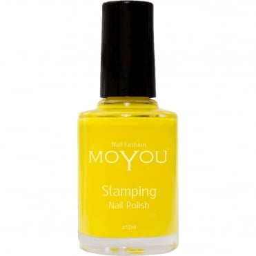 Stamping Nail Art - Special Nail Polish - Yellow 12ml