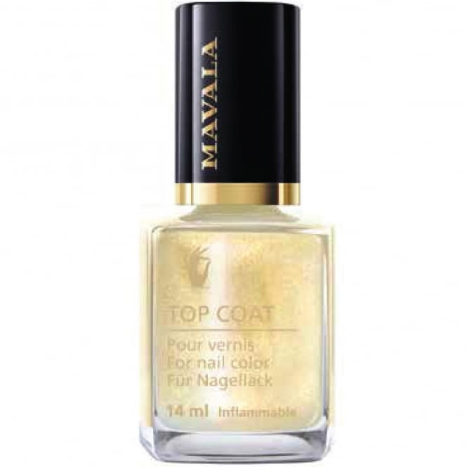 Mavala Star Top Coat Collection - Gold Star 14ml