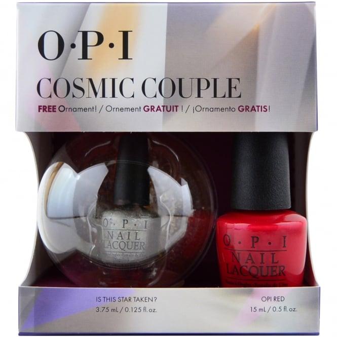 OPI Starlight 2015 Holiday Duo - Red & Mini Is This Star Taken - Cosmic Couple (1 x 15ml & 1 x 3.75ml) (HR G25)