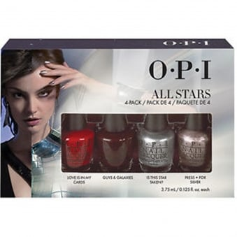 Starlight 2015 Holiday Mini Nail Polish Collection - All Stars 4x3.75ml (HR G08)