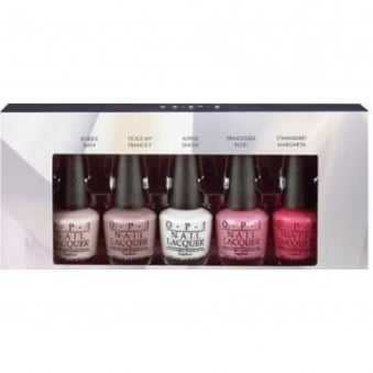 Starlight 2015 Holiday Mini Nail Polish Collection - Top Stars 5x3.75ml