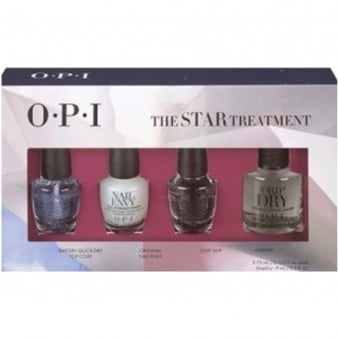Starlight 2015 Holiday - Mini Nail Treatments Set - The Star Treatment (3 X 3.75ml & 1 X 9ml) (HRG18)