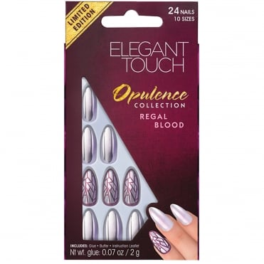 Stiletto Opulence False Nails - Regal Blood (24 Nails)