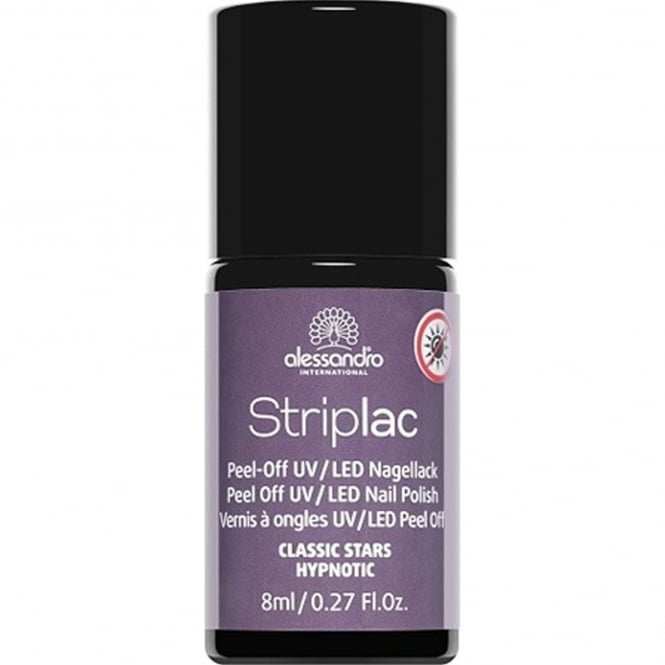 Striplac Peel Off UV LED Classic Stars Nail Polish Collection - Hypnotic 8mL