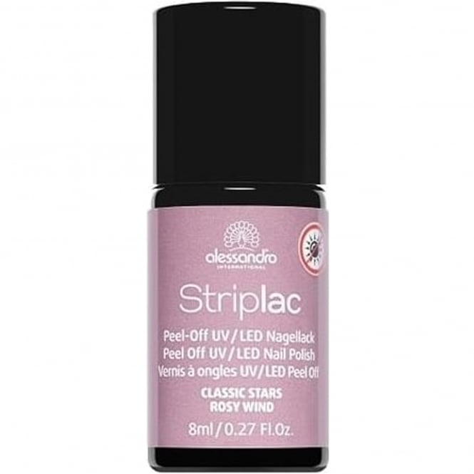 Striplac Peel Off UV LED Classic Stars Nail Polish Collection - Rosy Wind 8mL