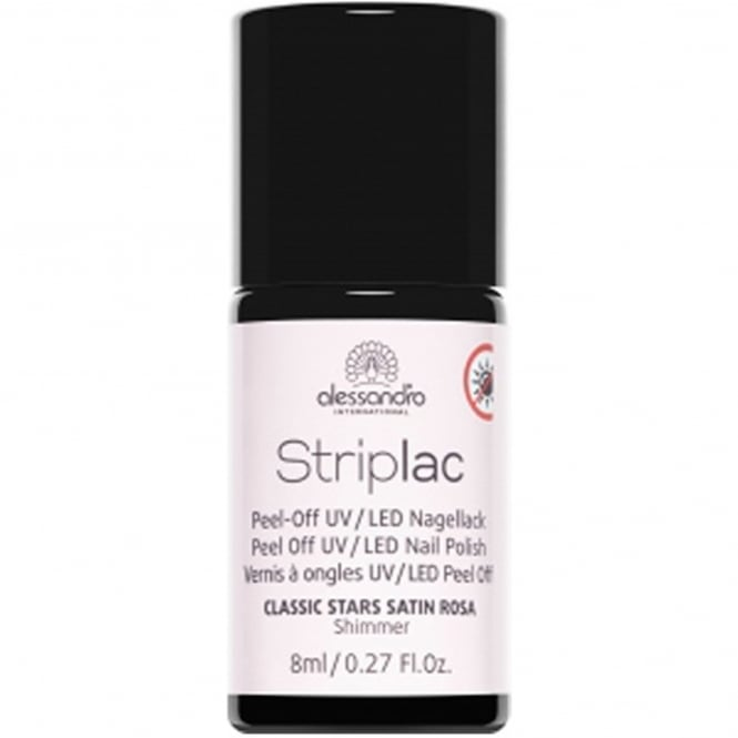 Striplac Peel Off UV LED Classic Stars Nail Polish Collection - Satin Rosa 8mL