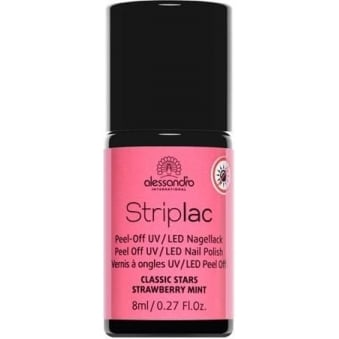 Peel Off UV LED Classic Stars Nail Polish Collection - Strawberry Mint 8mL