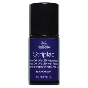 Peel Off UV LED Nail Polish - Blackberry (58) 8ml