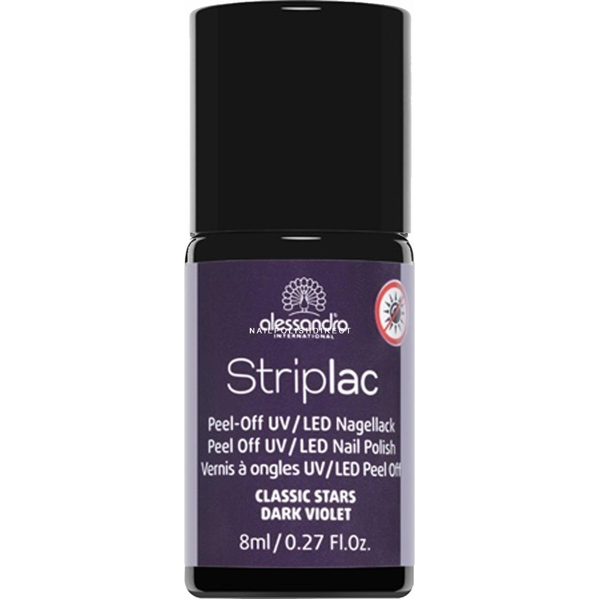 Striplac Peel Off UV LED Nail Polish - Dark Violet (45)