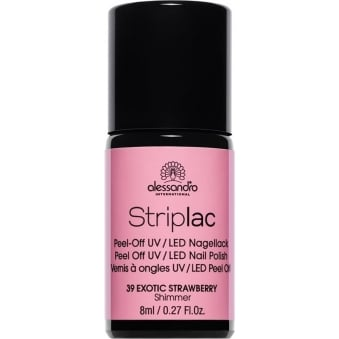 Peel Off UV LED Nail Polish - Exotic Strawberry (39) 8ml