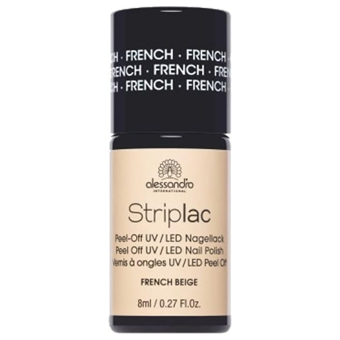 Striplac Peel Off UV LED Nail Polish - French Beige 8mL