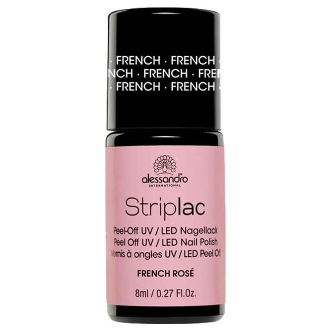Striplac Peel Off UV LED Nail Polish - French Rosé 8mL