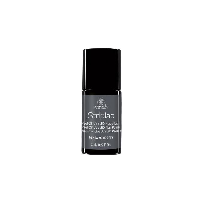 Striplac Peel Off UV LED Nail Polish - New York Grey 8ml (76)