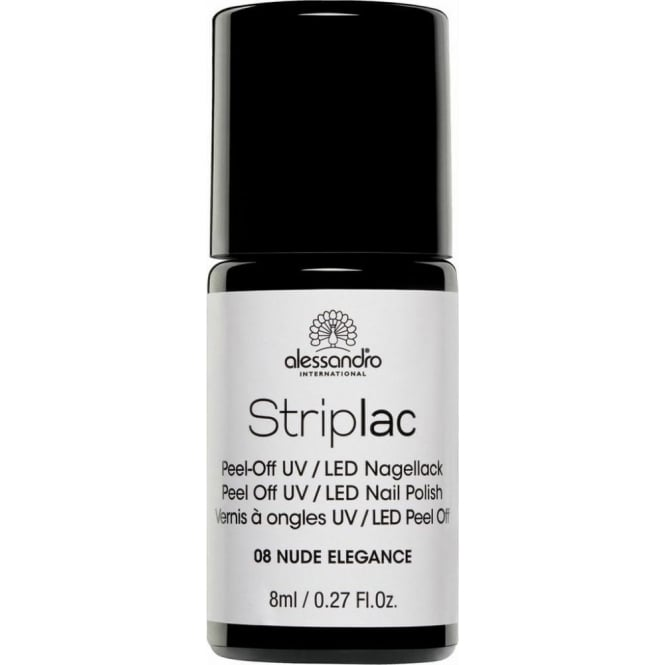 Striplac Peel Off UV LED Nail Polish - Nude Elegance 8ml (08)