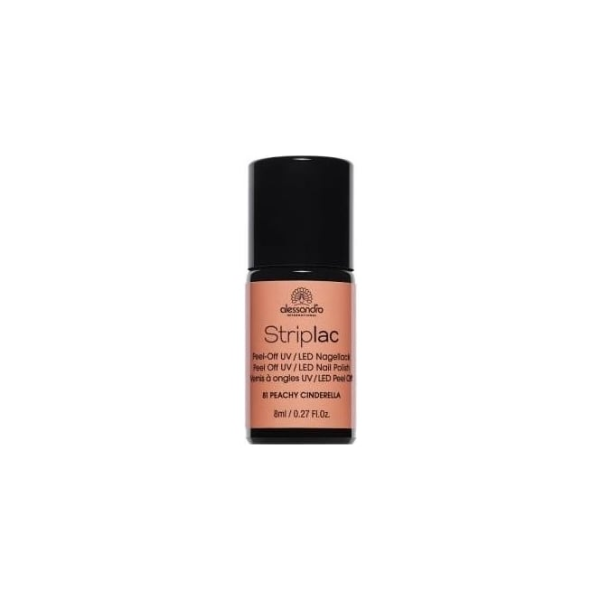 Striplac Peel Off UV LED Nail Polish - Peachy Cinderella (81) 8ml