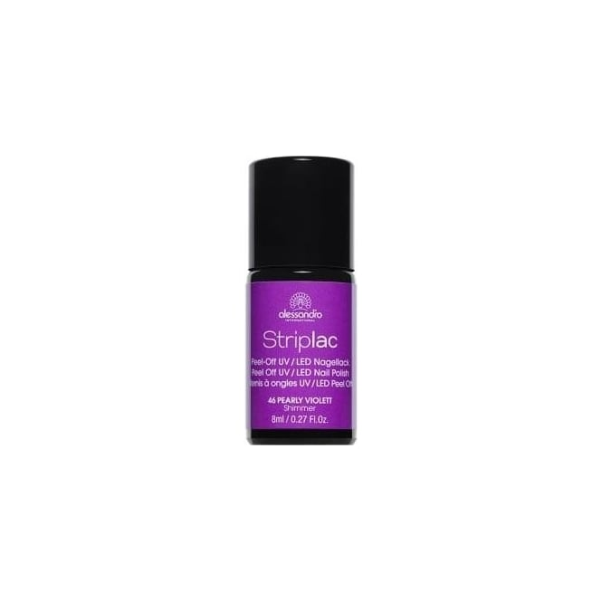Striplac Peel Off UV LED Nail Polish - Pearly Violett (46) 8ml