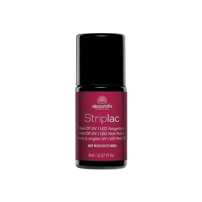 Striplac Peel Off UV LED Nail Polish - Rococo Red (507) 8mL