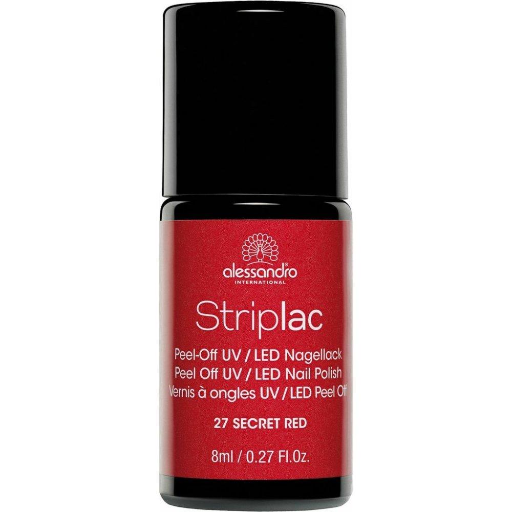 Striplac Peel Off UV LED Nail Polish - Secret Red (27)