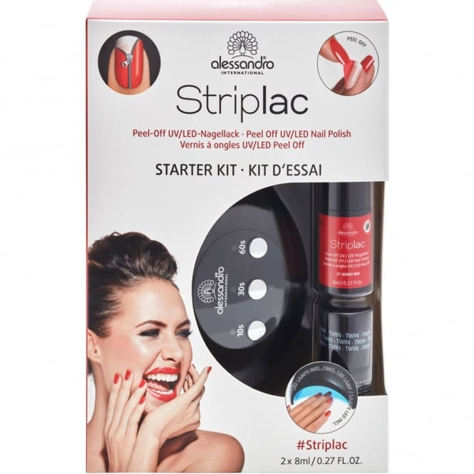 Striplac Peel Off UV LED Nail Polish - Starter Kit