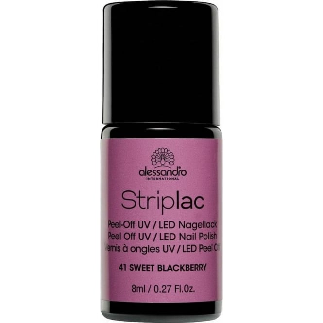 Striplac Peel Off UV LED Nail Polish - Sweet Blackberry 8ml (41)