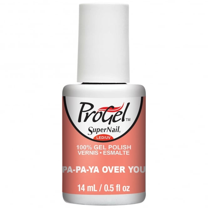 SuperNail Pro Sugar Kiss 2016 Gel Nail Polish Collection - Papaya Over You 14ml