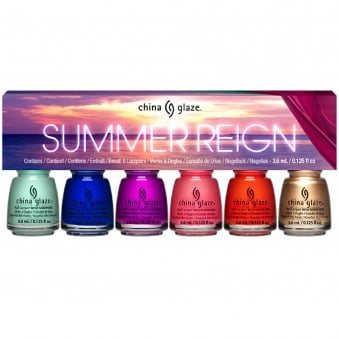 Summer Reign 2017 Nail Polish Collection - Mini Set (80023) 6 x 3.6ml
