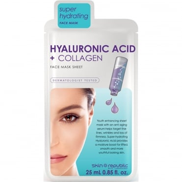 Super Hydrating Face Mask - Hyaluronic Acid + Collagen 25ml