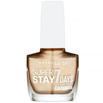 Super Stay 7 Days Metallic Silks Gel Nail Polish - Golden Thread (880) 10ml