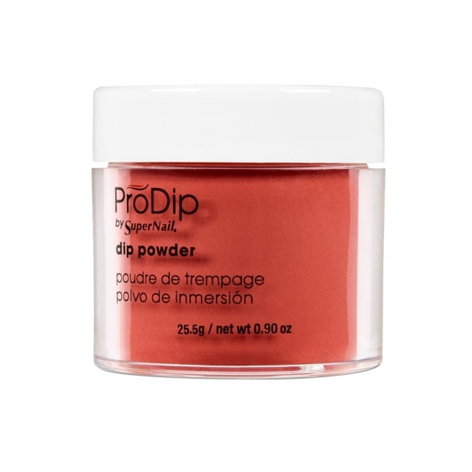 SuperNail Pro Dip Powder Professional Dipping Pot - Fiery Red (25.5g)