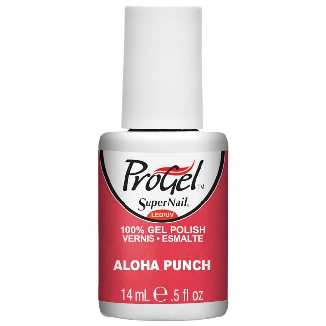 SuperNail Pro Gel Nail Polish - Aloha Punch 14ml (80113)
