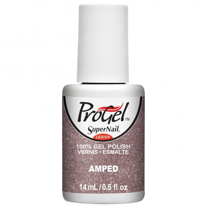 SuperNail Pro Gel Nail Polish - Amped 14ml (82206)