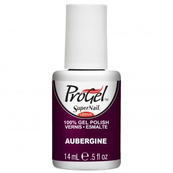 Gel Nail Polish - Aubergine 14ml