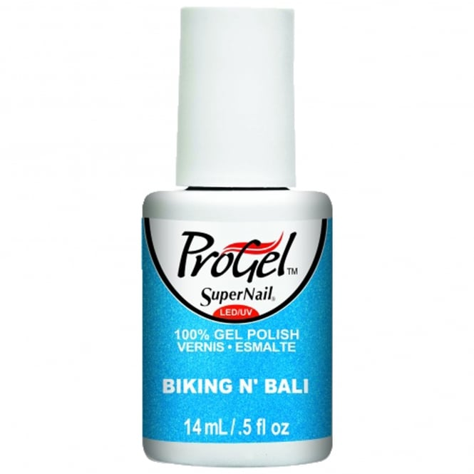 SuperNail Pro Gel Nail Polish - Biking 'N Bali 14ml