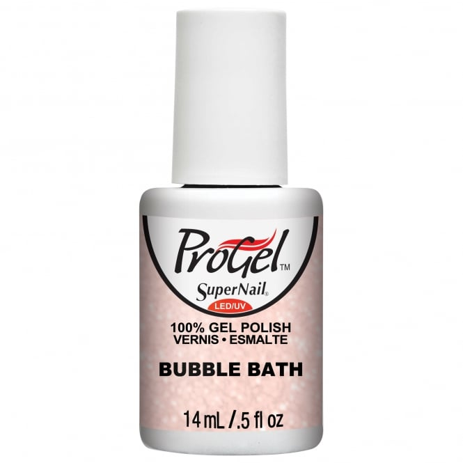 SuperNail Pro Gel Nail Polish - Bubble Bath 14ml (80155)