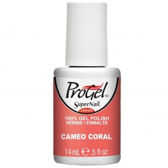 Gel Nail Polish - Cameo Coral 14ml