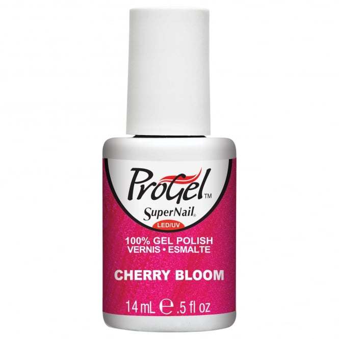 SuperNail Pro Gel Nail Polish - Cherry Bloom 14ml