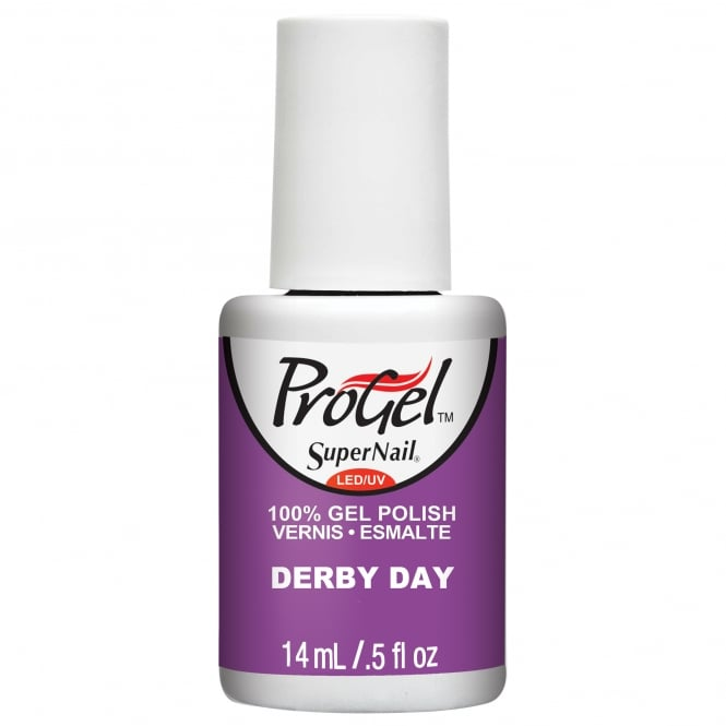 SuperNail Pro Gel Nail Polish - Derby Day 14ml
