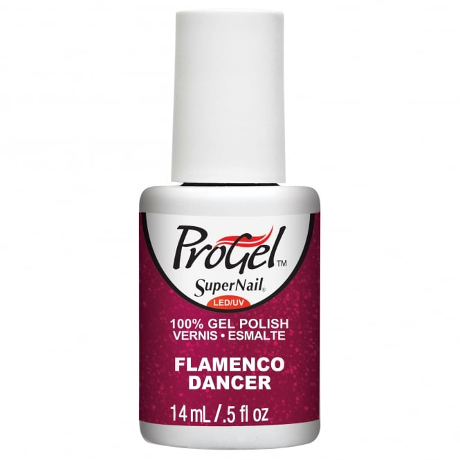 SuperNail Pro Gel Nail Polish - Flamenco Dancer 14ml