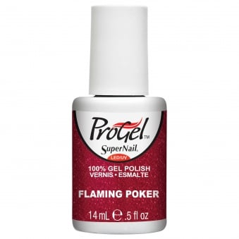 Gel Nail Polish - Flaming Poker 14ml