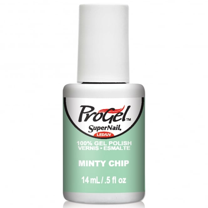 SuperNail Pro Gel Nail Polish - Minty Chip 14ml (81451)